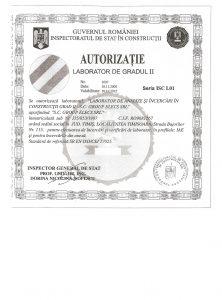 Autorizatie lab.gr.II-1